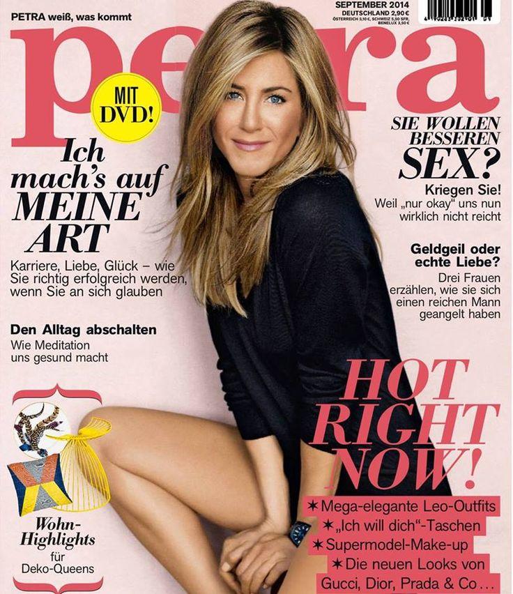 Jennifer Aniston for PETRA MAGAZINE, september 2014