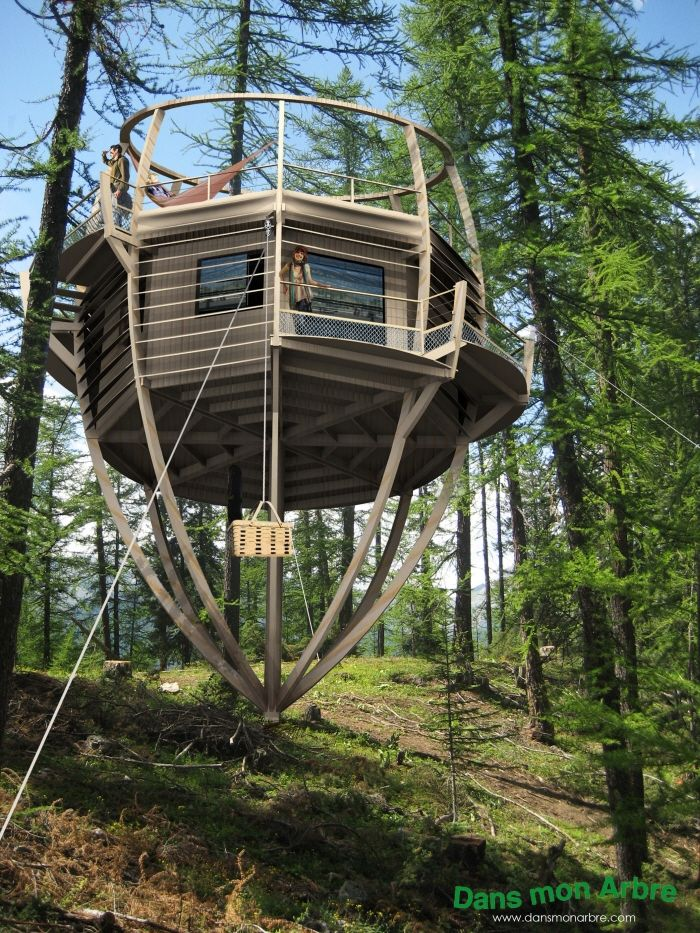 Sustainable Tree Houses