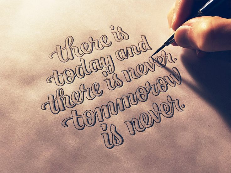 """You don't know if you'll be here tomorrow or next week or next year. If something is important to you, don't wait to start. Don't wait until you """"have time"""" or """"have motivation."""" Today is all you h..."""
