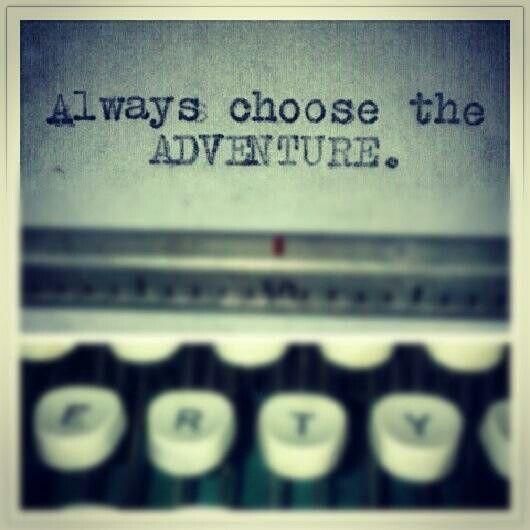 Always choose adventure. Free Spirit Girl Etsy Logos, Pre made logos, custom logo design.... http://www.etsy.com/shop/BannerSetDesigns