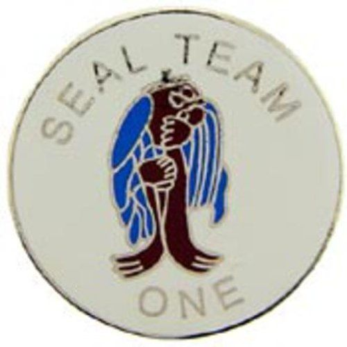 """U.S. Navy SEAL Team 1 Pin 1"""" by FindingKing. $8.99. This is a new U.S. Navy SEAL Team 1 Pin 1"""""""