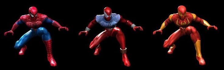 Marvel ultimate alliance костюмы