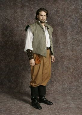 """mens clothing in the 1600s Men, women and children  many clothes would adjust to a """"bruised-blue"""" hue most evidence of clothing in the 1600s is collected through painting and."""