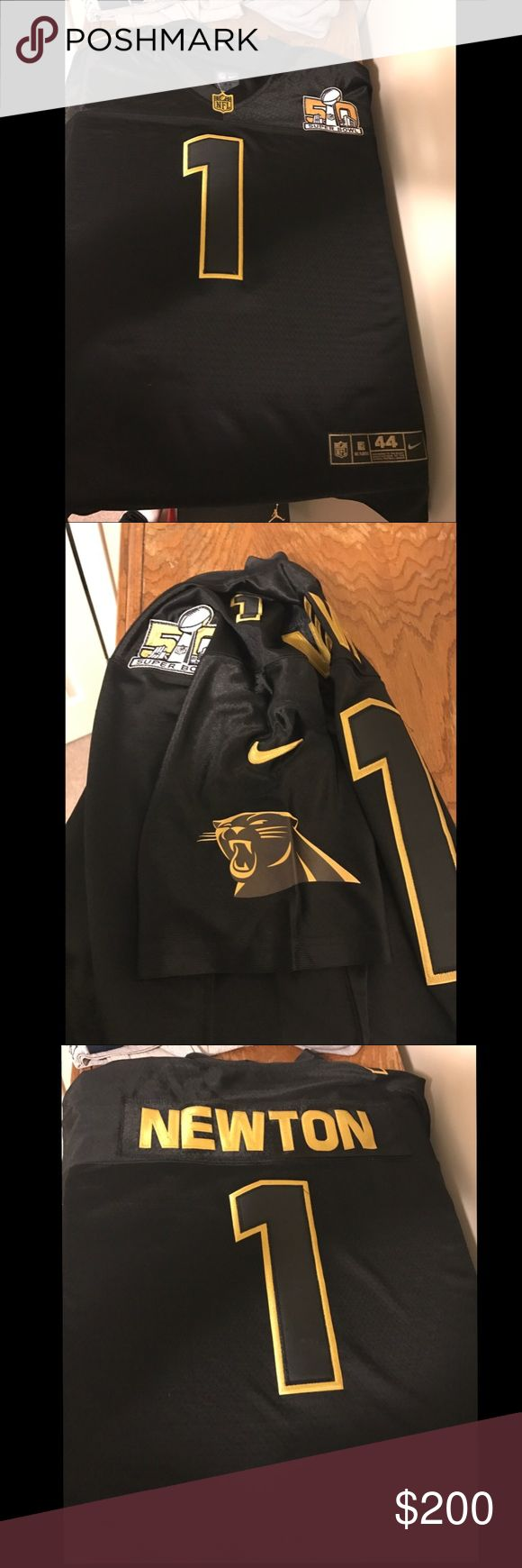 Black and gold cam newton jersey Black and gold cam newton jersey Shirts