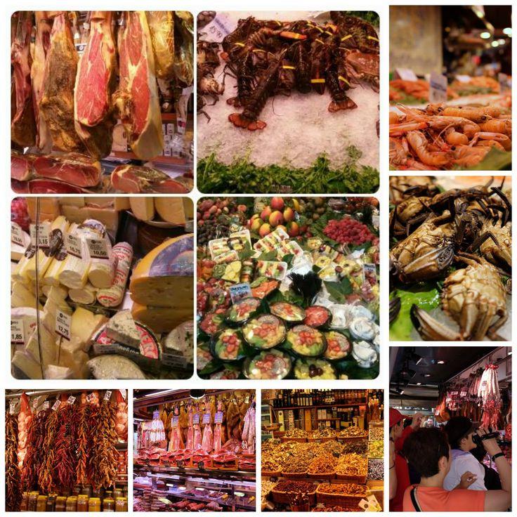 mercado LA BOQUERIA, Barcelona (ESP)...no description needed...just taste it...