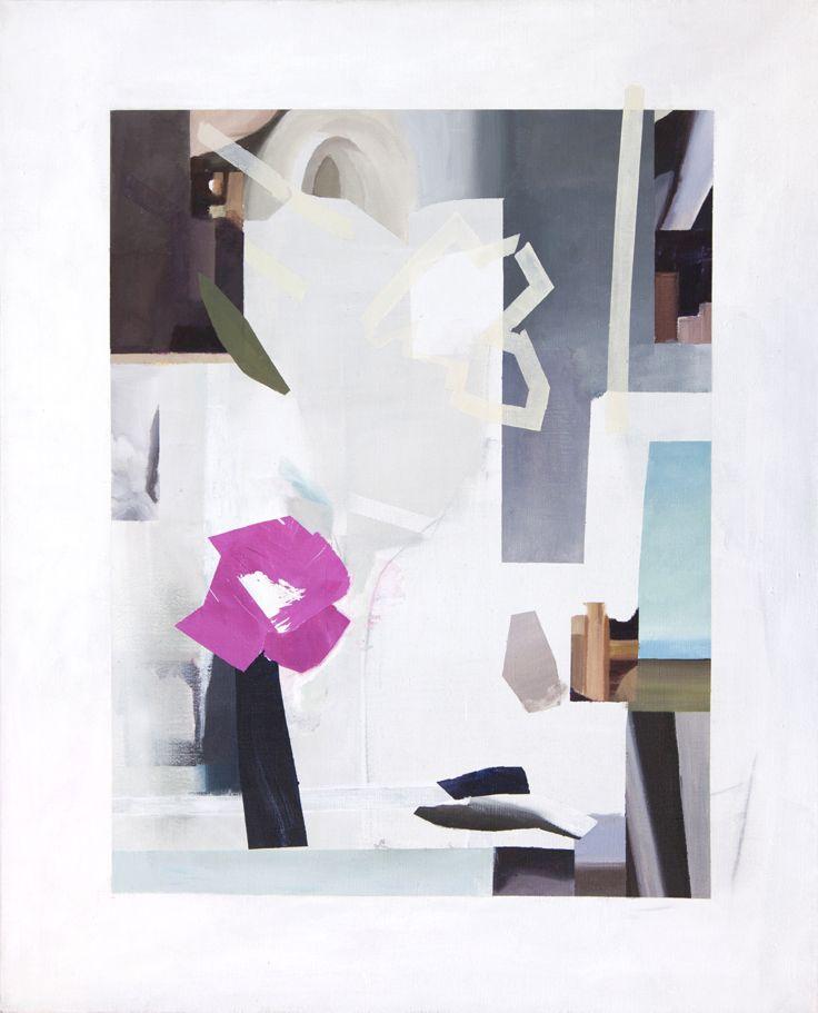 Mari Jäälinoja, Vanitas, 2016, acrylic on canvas, 100x81cm