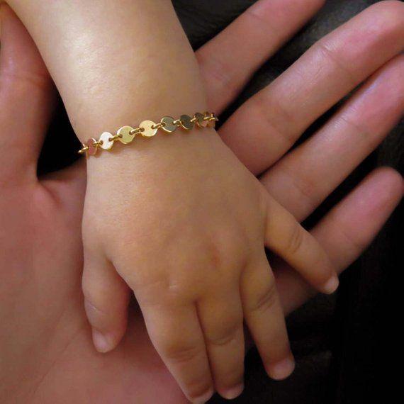 Bracelet Gold Baby Child