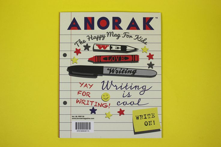 Image of Anorak issue 28 - WRITING