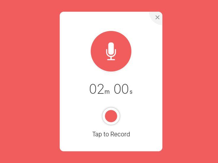 Record UI Popup