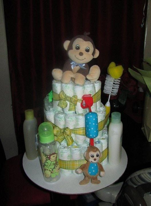 Gender Reveal Cake Cincinnati