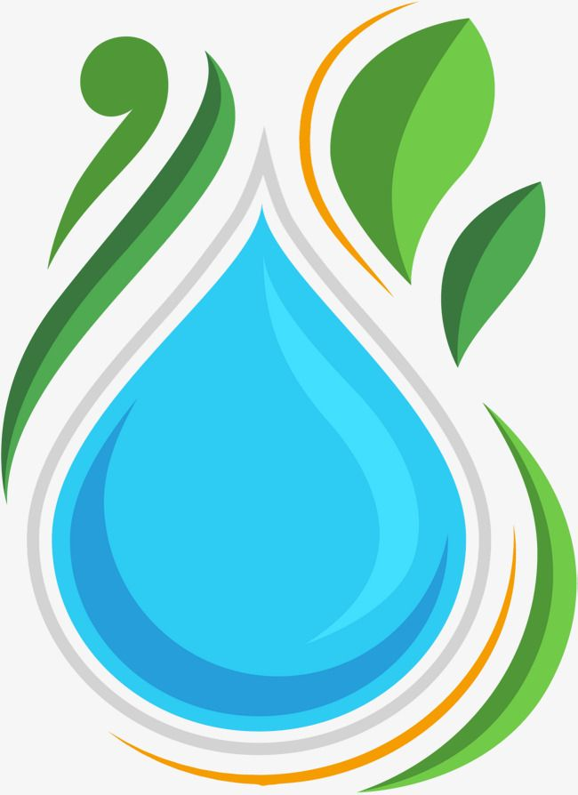 Vector A Drop Of Water Drop Vector Water Vector Green Png Transparent Clipart Image And Psd File For Free Download Vector Clip Art Water