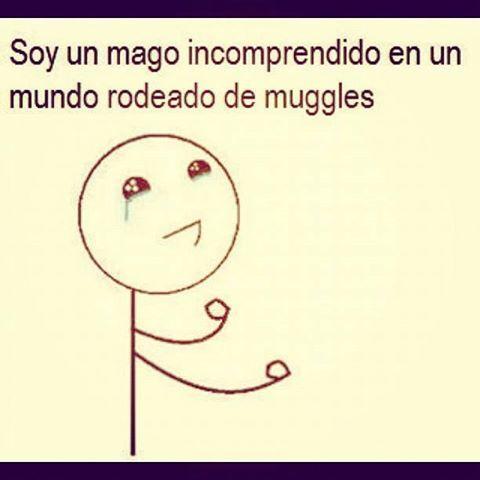 Soy un mago incomprendido en un mundo rodeado de muggles :(