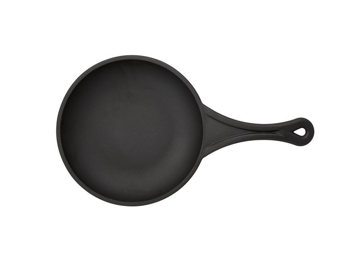 """8"""" Cast Iron Rust Resistant Non-Stick Frying Pan"""