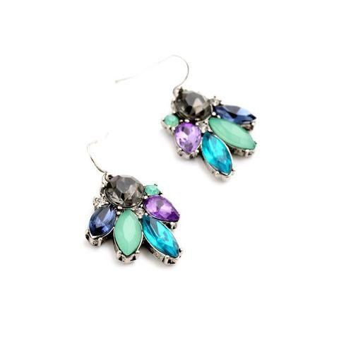 Sparkling Pair of Beautiful Drop Earrings