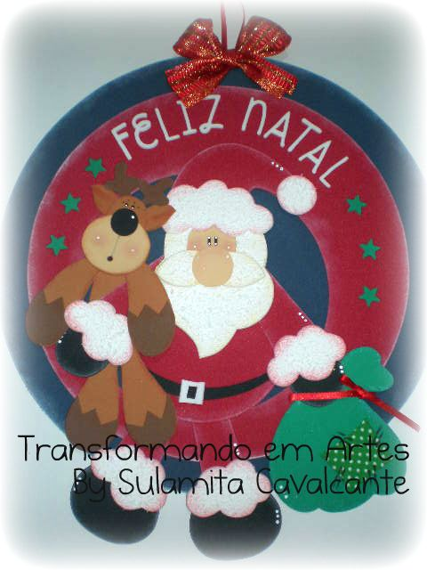 Si buscas moldes de guirnaldas de navidad en goma eva para decorar tu casa negocio o taller te - Guirnaldas navidad manualidades ...