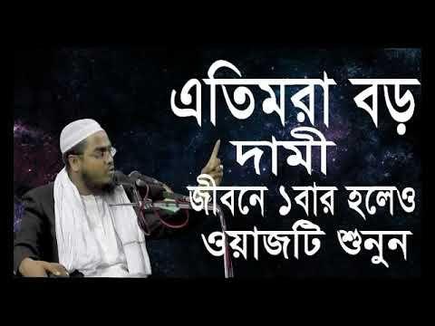 এতিমরা বড় দামী। হাফিজুর রহমান সিদ্দিকী ওয়াজ। Hafizur Rahman Siddiki waz