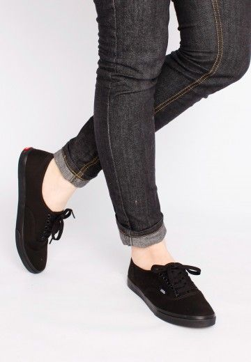 2636bc44c2dbce Vans - Authentic Lo Pro Black Black - Girl Shoes - Official Merchandise  Online Shop - Impericon.com UK