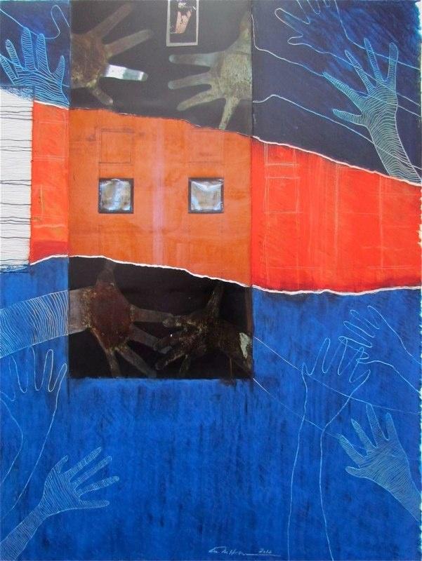 Åse Margrethe Hansen/Reach; mixed media, 2012 Art