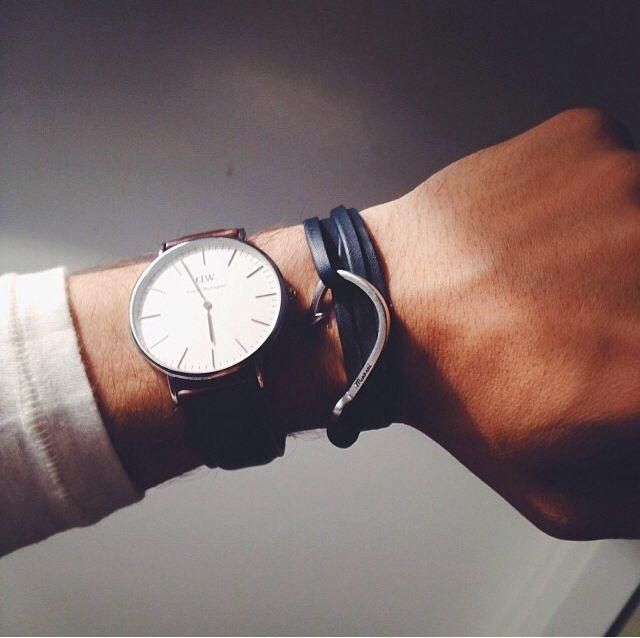 #Miansai and #DanielWellington watch