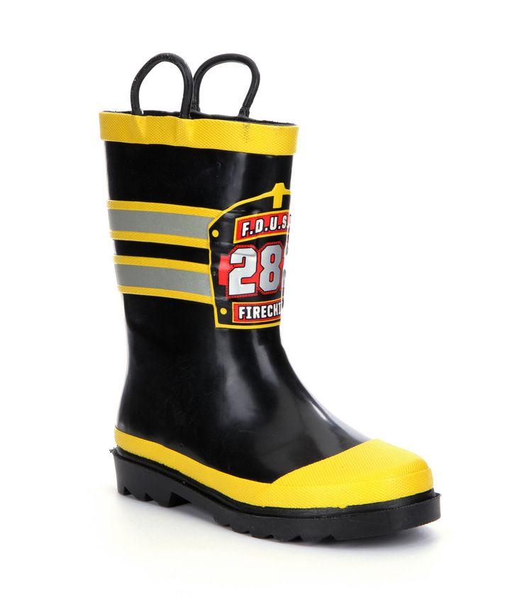 Western Chief FD USA Firechief Boys Rain Boots #Dillards