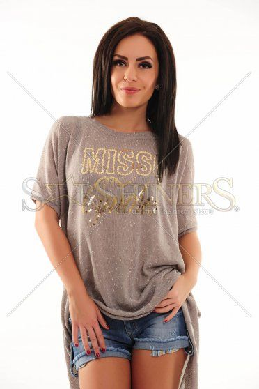 Bluza MissQ Glowy Chick Grey