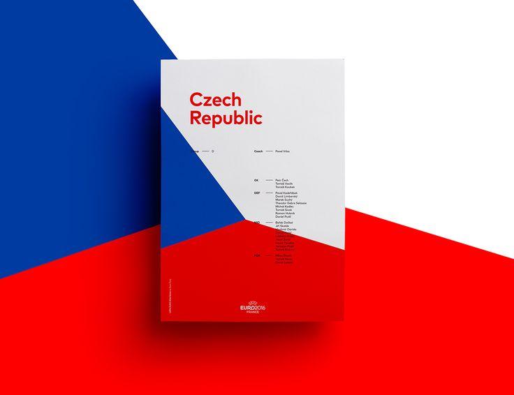 UEFA EURO 2016 Poster Series   Abduzeedo Design Inspiration