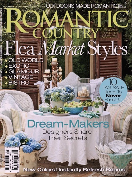 21 Best Images About Romantic Country Home Magazine On