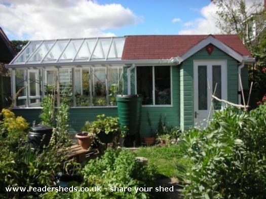 Potting shed, Cabin/Summerhouse shed from Garden | Readersheds.co.uk