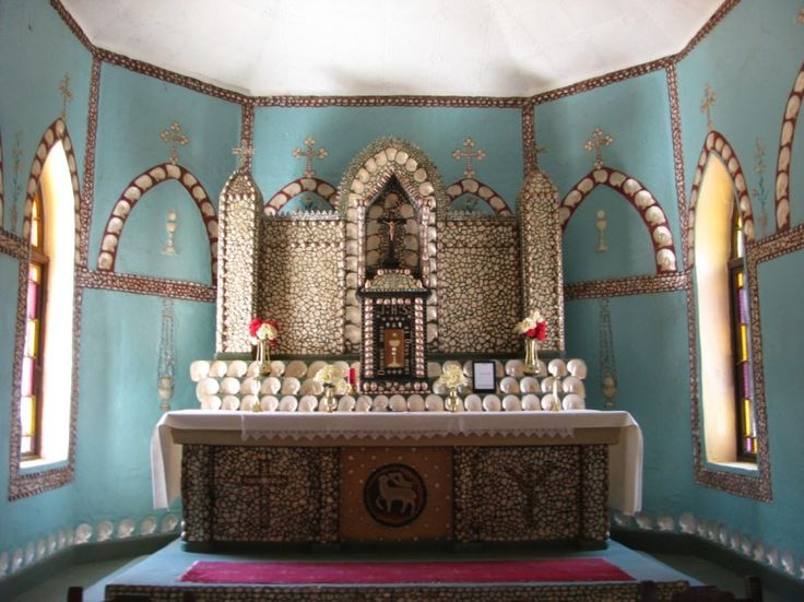 Pearl Shell Altar Eagle Bay in Broome