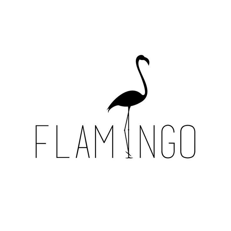 Flamingo Simple Logo Logo Design By Puang Fikar