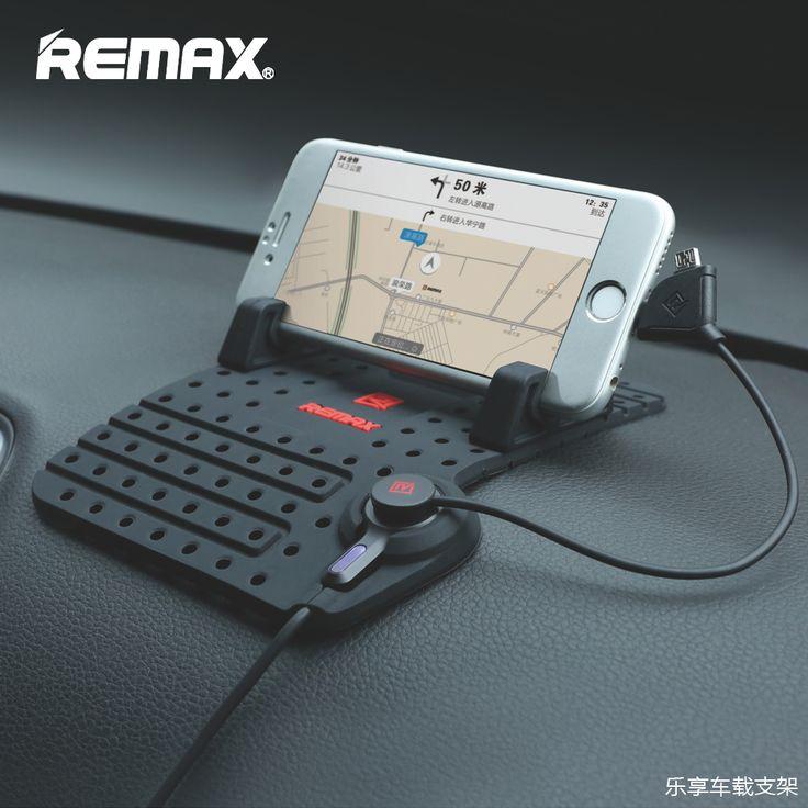 Remax Carro Conector do Suporte Ajustável Suporte do telefone do carro Magnético Montagens com cabo de carregamento usb para iphone 5s 6 7 xiaomi samsung