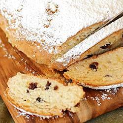 Stollen (pão alemão de Natal) @ allrecipes.com.br
