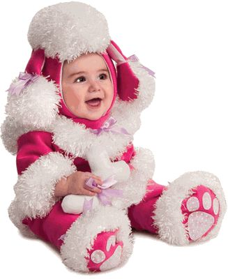 baby girl puppy halloween costume