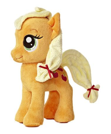 Take a look at this Applejack Plush Toy by My Little Pony on #zulily today!