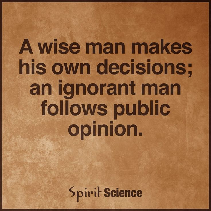 A Wise Man.