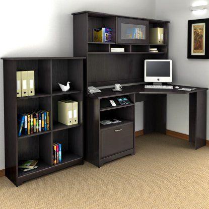 Best Corner Desk With Hutch Ideas On Pinterest White Desks - Bush cabot corner computer desk