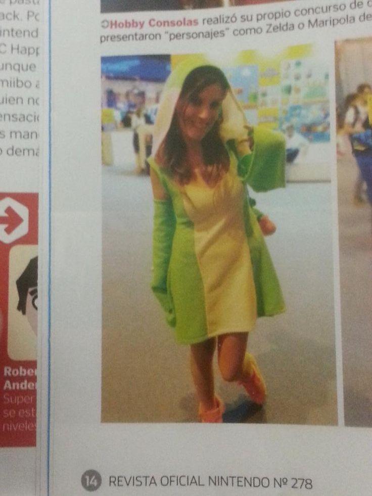 En el año 2015 asistí a la Madrid Games Week con mi cosplay de Yoshi y me hicieron una foto para la revista oficial de Nintendo.#Cosplay #VideogameCosplay #Gijinka #Yoshi #NintendoMagazine #RevistaNintendo #Nintendo #MadridGamesWeek