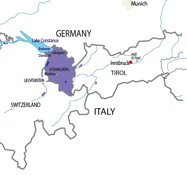 Lake Constance has shores in 3 countries - Easy cycle route - check out Freedom Treks for tour. 230km loop - next trip to UK?