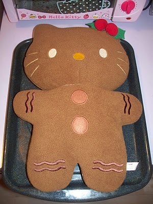 HELLO KITTY LIMITED: HELLO KITTY GINGERBREAD COOKIE PLUSH