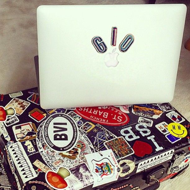 #repost @bat_gio travelling in style with the #AnyaHindmarch @chaosfashion #StickerSHOP