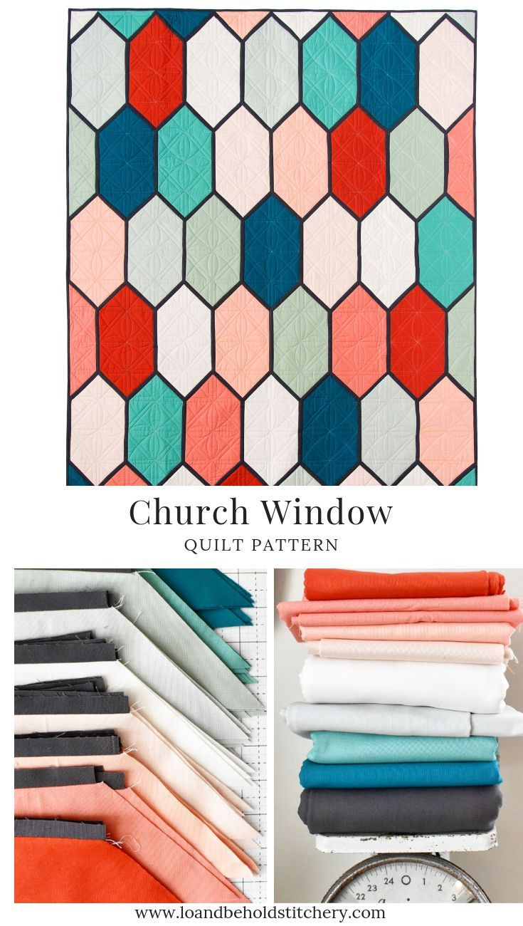 Church Window Quilt Patterns Modern Quilt Patterns Pattern