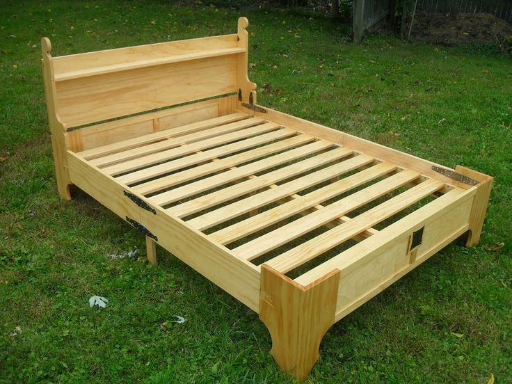 Amazing Bed in a Box. The dovetailed slats and central support add rigidity to the support the mattress.