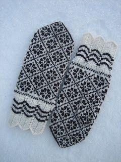 YARN JUNGLE: Estonian knitting