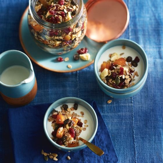 Deze zelfgemaakte pittenmuesli is lekker als ontbijt met yoghurt of kwark. #muesli #ontbijt #JumboSupermarkten