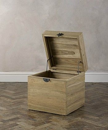 Java Rustic Box #perfectoutdoorliving this box would be perfect for storing away garden accessories if the weather got worse, its style would also be the perfect addition to the design of the garden.
