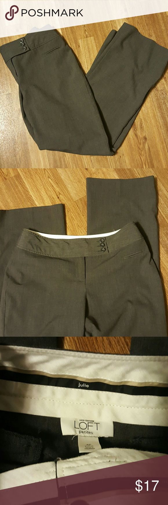 Ann Taylor Loft dress pants Style is called Julie This is a petite size  Like new quality Ann Taylor Pants Straight Leg