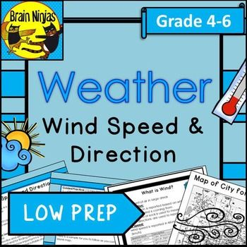Weather- Wind Speed and Direction