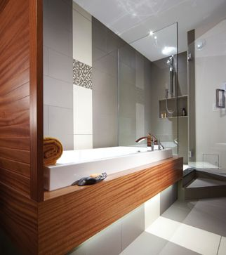 139 best salles de bains images on pinterest bathrooms slide show and homestead house. Black Bedroom Furniture Sets. Home Design Ideas