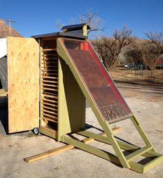 Solar Dehydrators on Pinterest   Solar, Food Dehydrator and Diy Solar