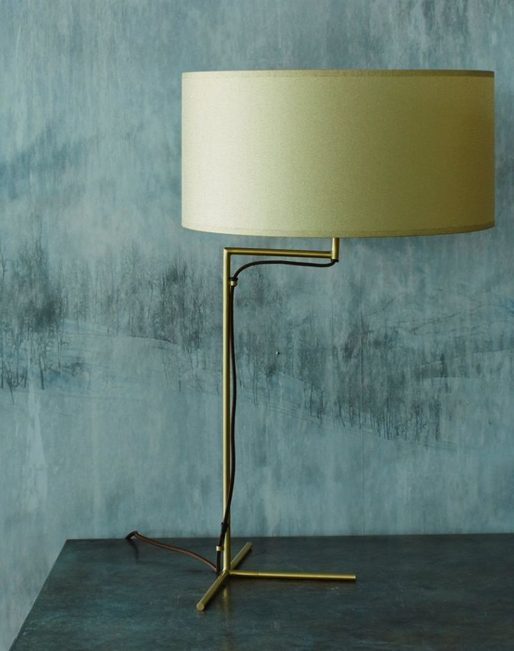 This masculine lamp is the ideal addition to any desk or side table